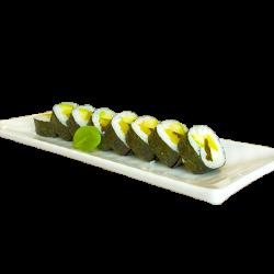 8 piezas roll vegetariano