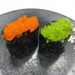 2 nigiris de langostino cocido