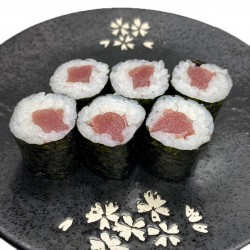 6 makis de salmón