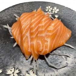 5 sashimis de salmón