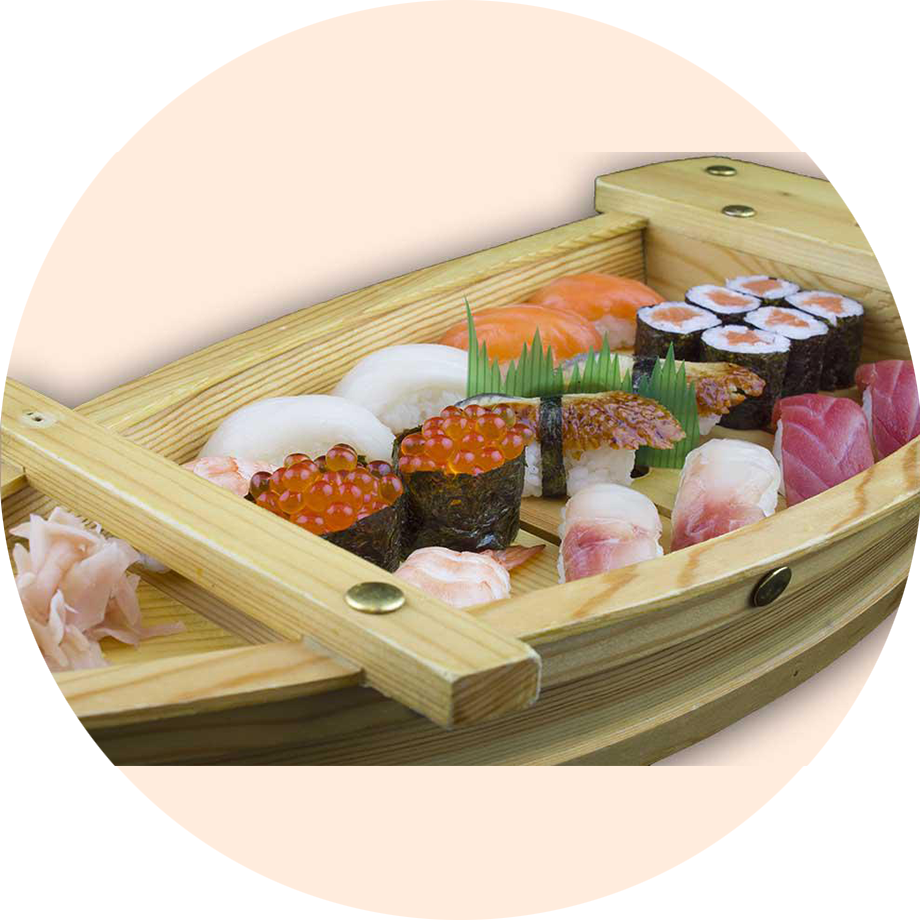 Sushi en Barco